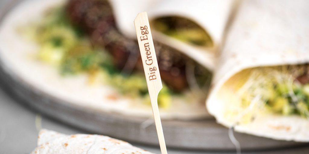Bambus-Grillspieße