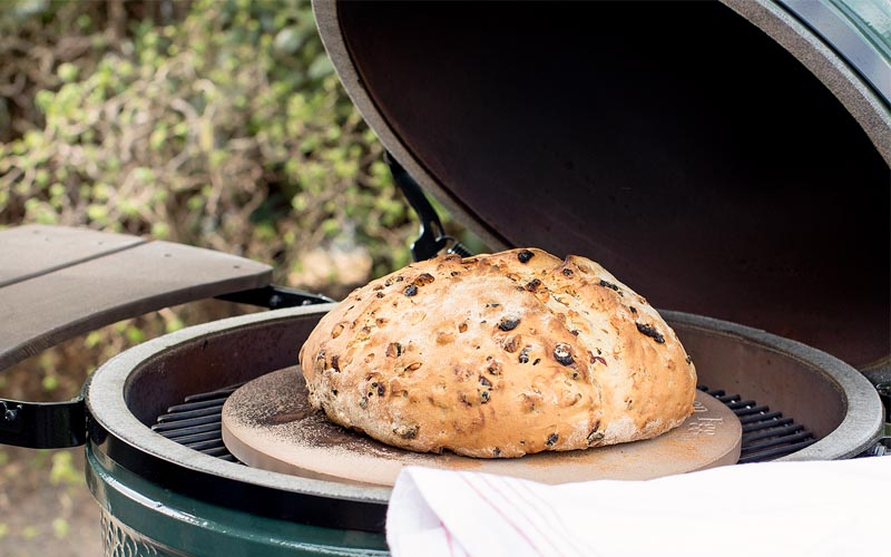 Image result for big green egg bread