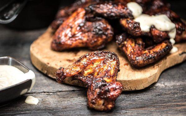 Ailes de poulet aux épices
