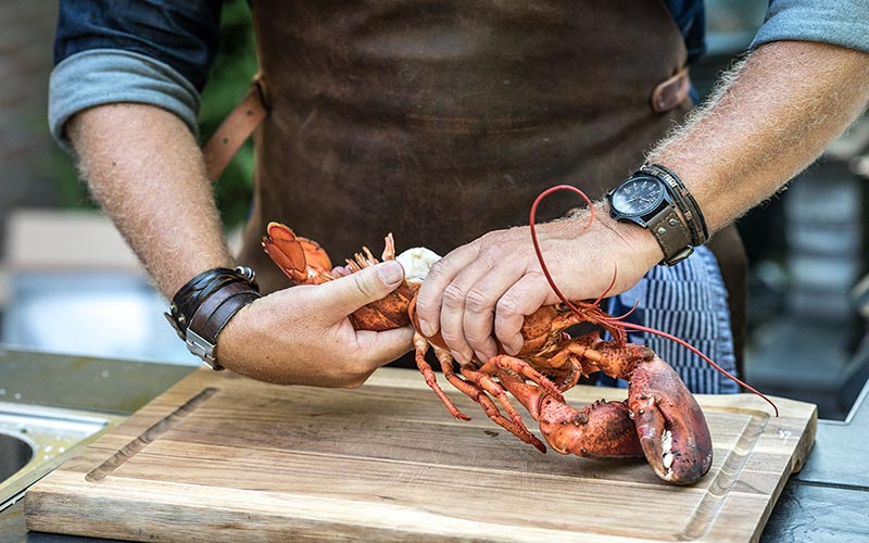 Lobster Cook in Butter