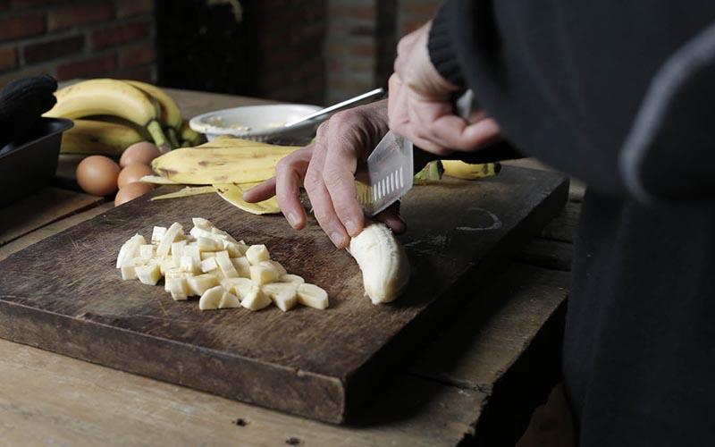 Bananenbrood met kokos