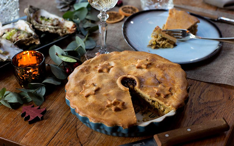 Truthahn Pie