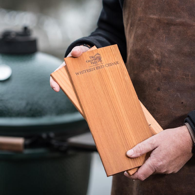 Big Green Egg Wooden Grilling Planks