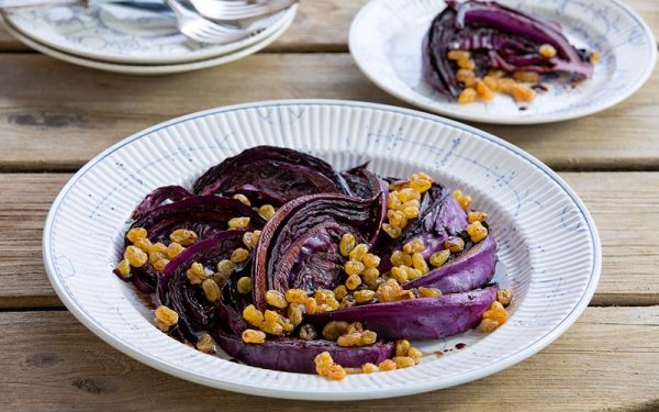 Fried Red Cabbage