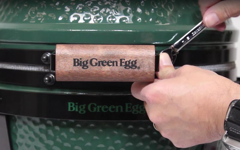 Big Green Egg monteren