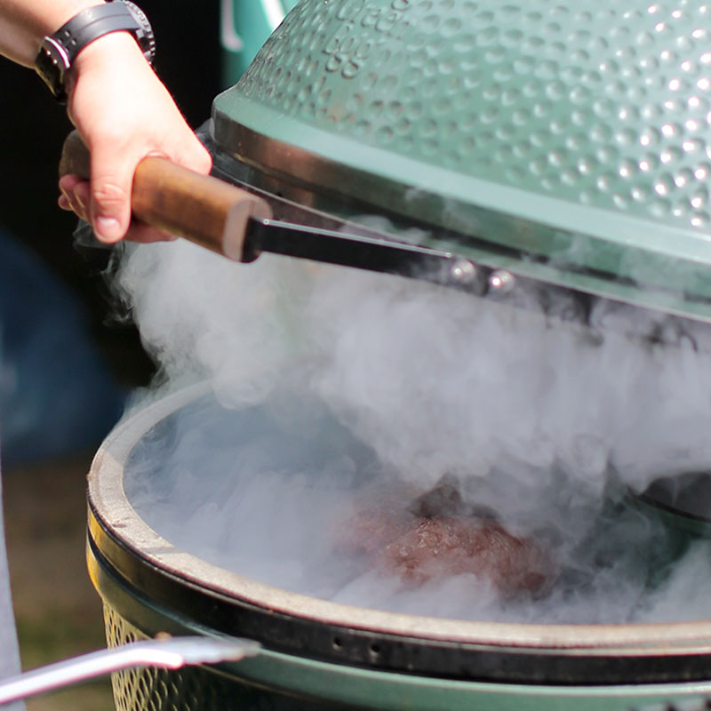 Rook van Big Green Egg