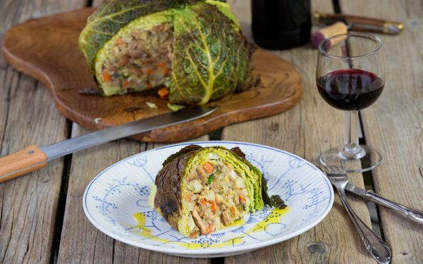 Stuffed Green Cabbage