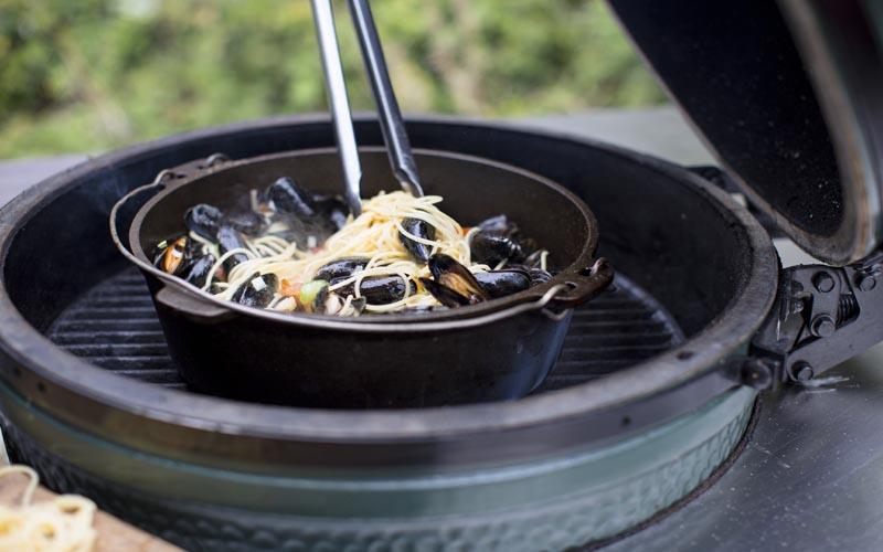 Spaghetti mit Muscheln