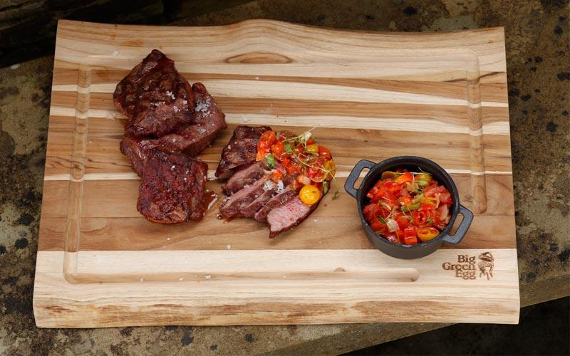 Grilled blake steak