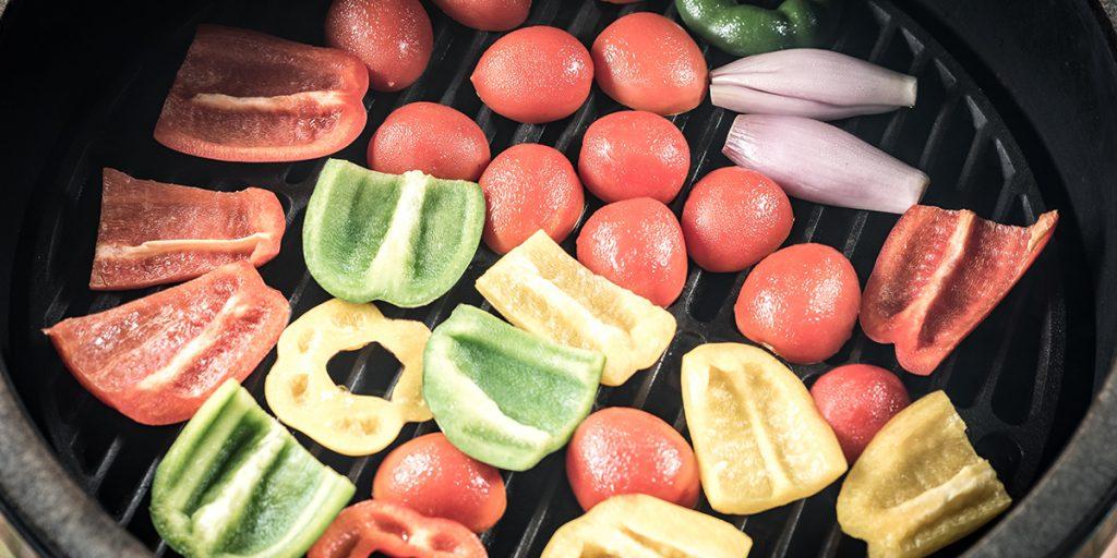Gaspacho de légumes grillés