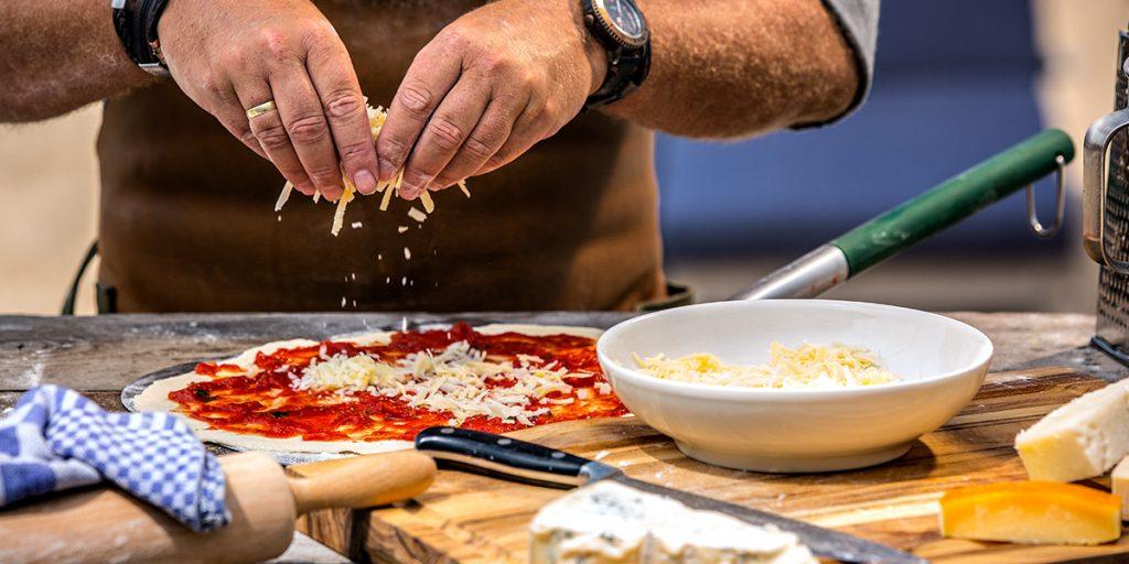 Pizza quottro formaggi