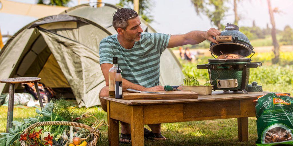 Cuisiner de bons petits plats en camping