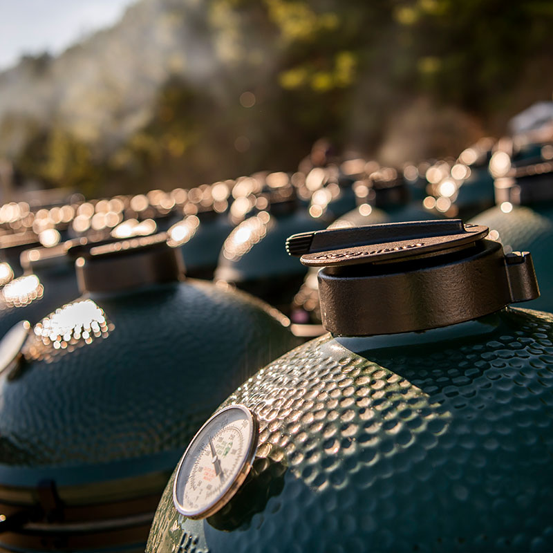 a lot of large big green eggs