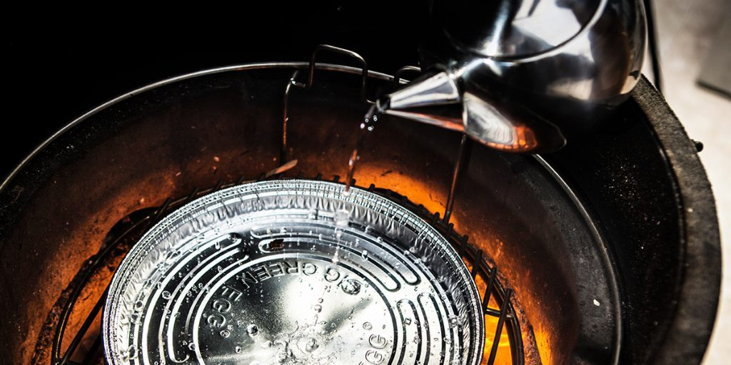 how to use a disposable drip pan for steaming