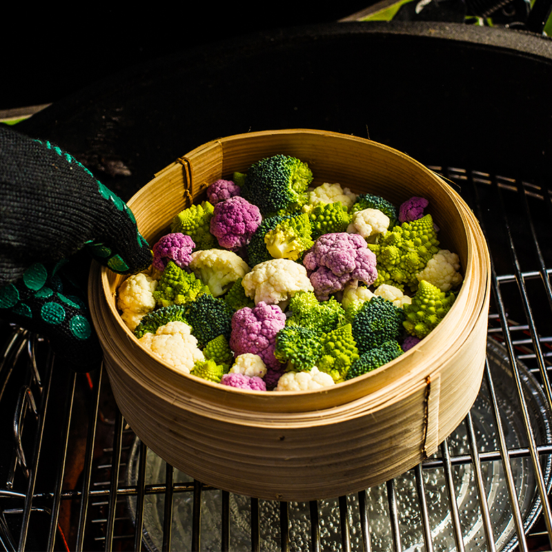 steamed cabbage