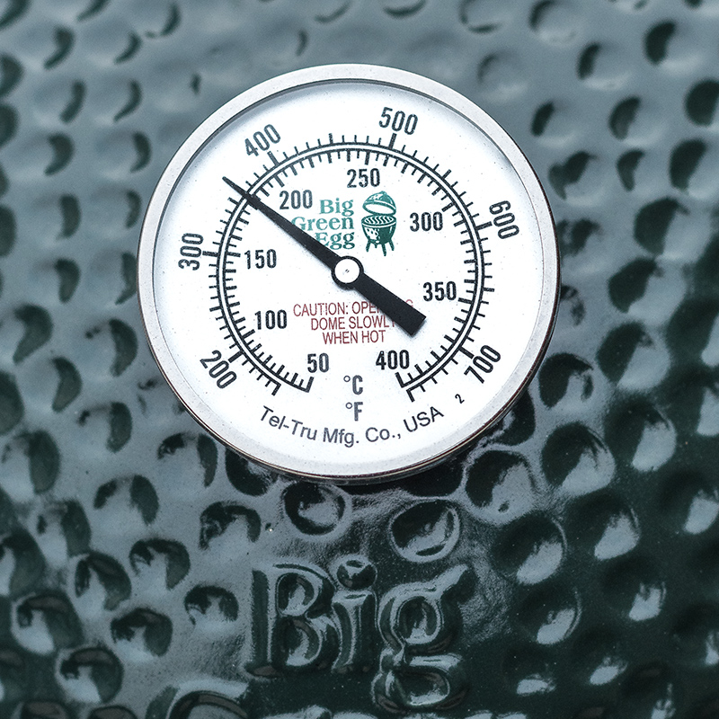 Big green egg tel true thermometer