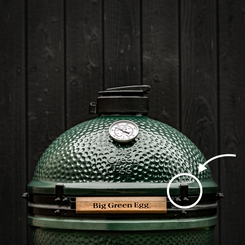 Big Green Egg Safety Brackets