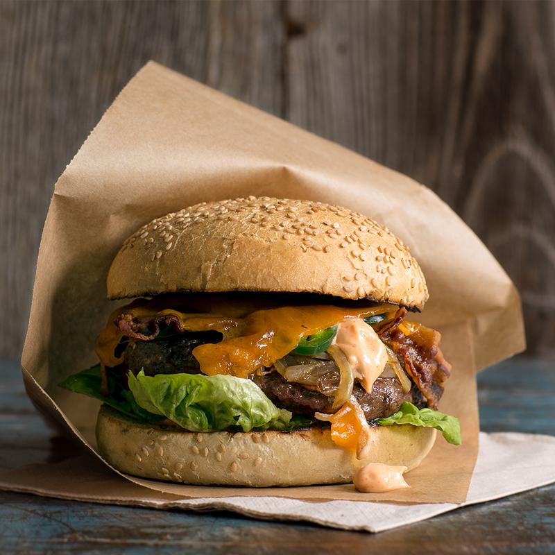 classic hamburger simpel BBQ recept big green egg