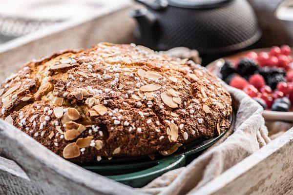 Italský mandlový chléb