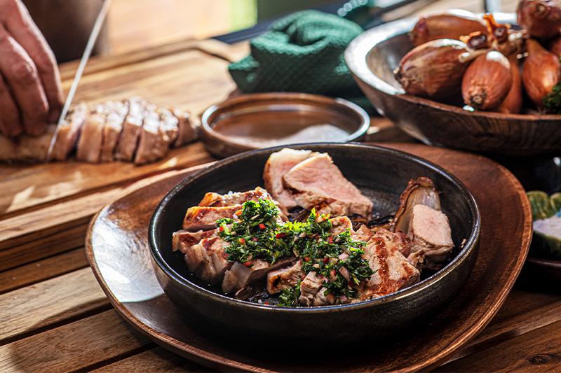 Grilled veal entrecote