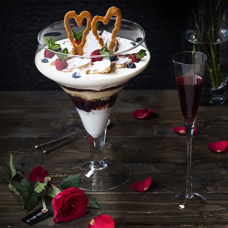 Valentine trifle