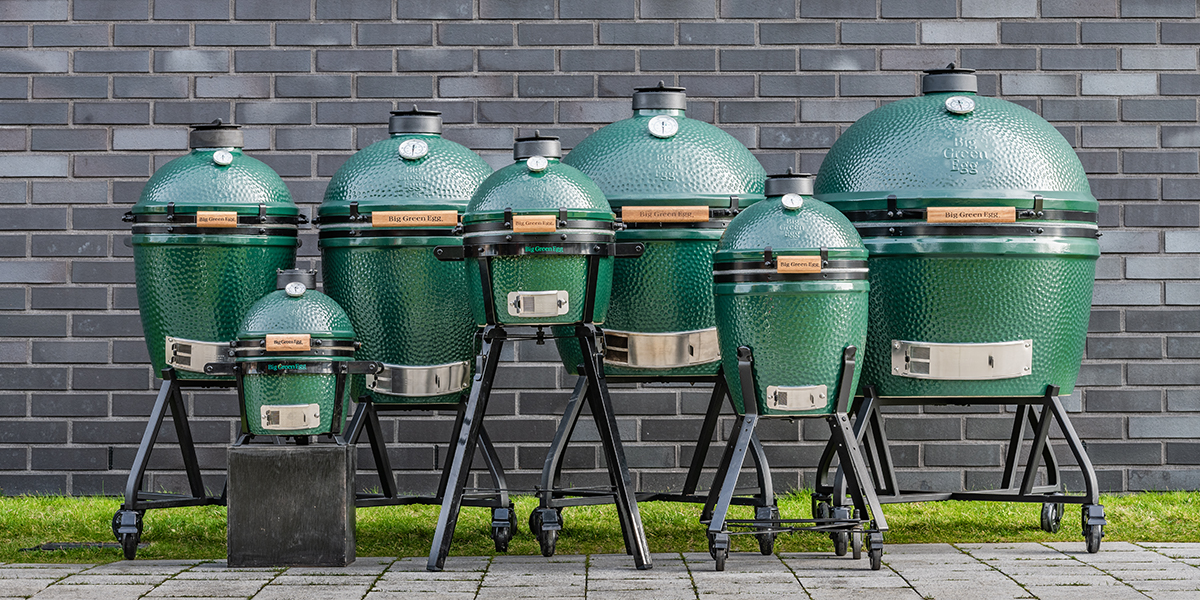 Big Green Egg models