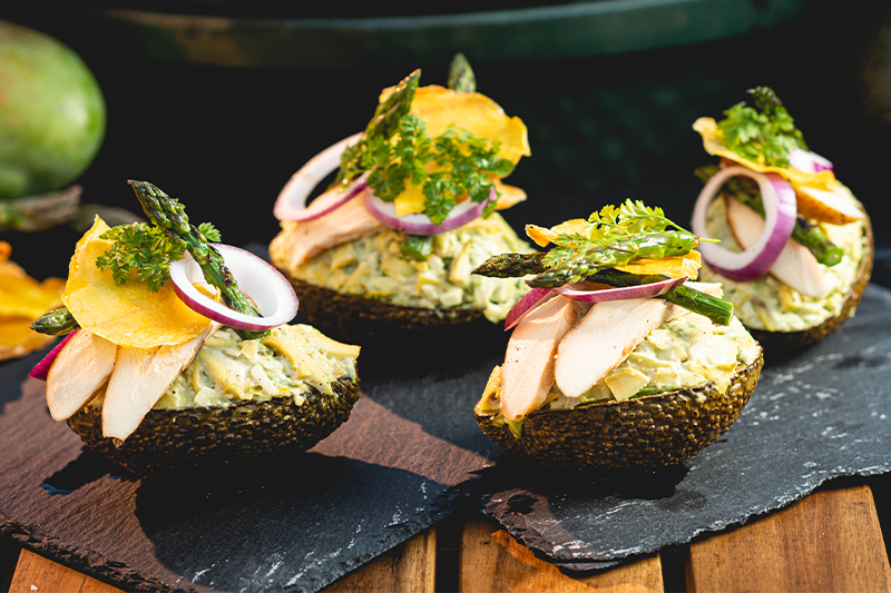 Avocadosalade