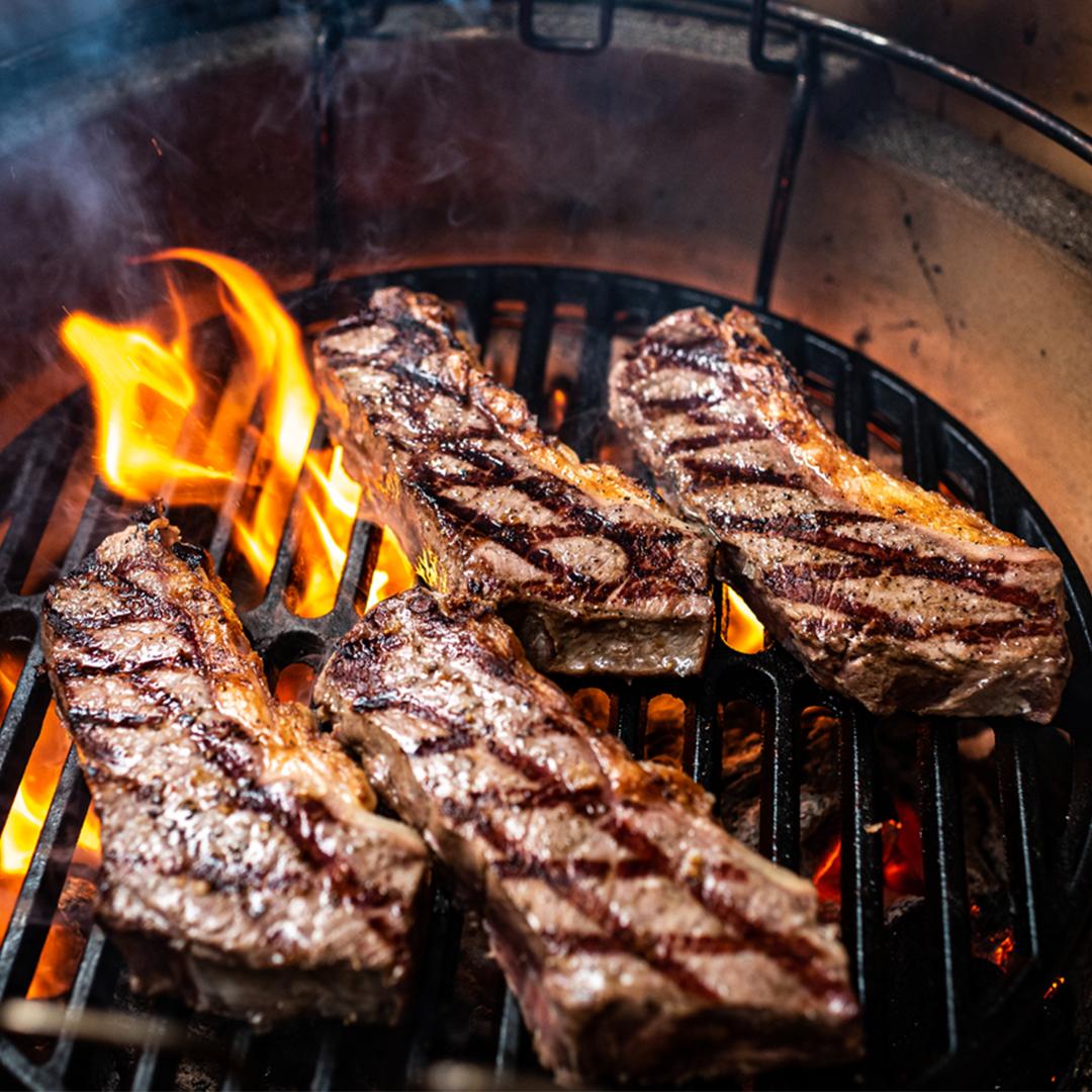 Entrecote als cowboy steak